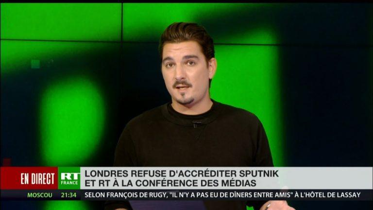 RT et Sputnik exclus par les autorités britanniques d'une conférence… «sur la liberté des médias» [Vidéo]
