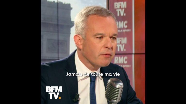 Au bord des larmes, François de Rugy répond aux accusations de Mediapart [Vidéo]
