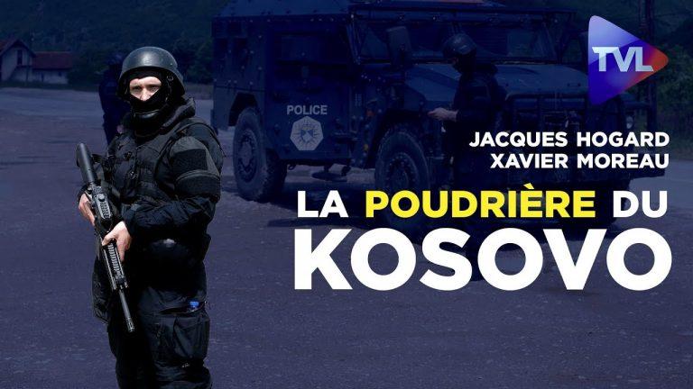 J. Hogard, X. Moreau : la poudrière du Kosovo [Vidéo]