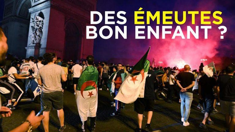 Des émeutes algériennes bon enfant ? [Vidéo]