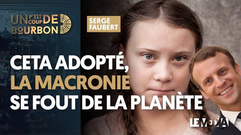 CETA adopté. La macronie se fout de la planète [Vidéo]