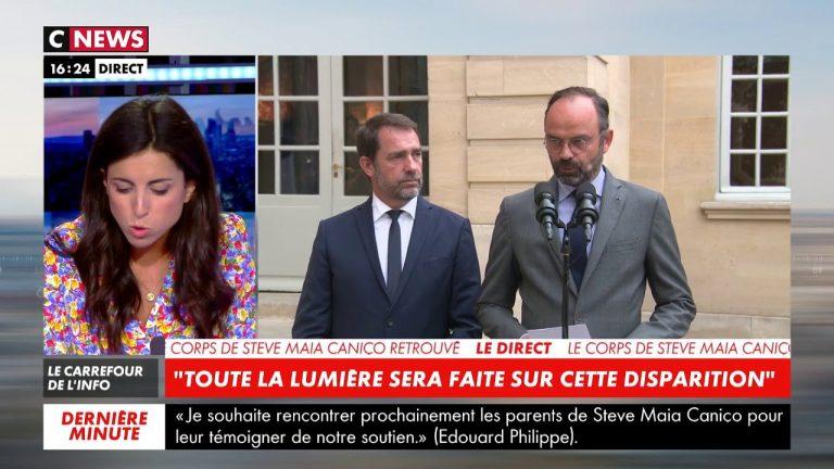 Mort de Steve: déclaration d'Edouard Philippe et Christophe Castaner [Vidéo]