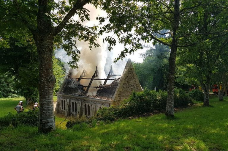 Scrignac. La chapelle de Koat Keo ravagée par un incendie [MAJ]