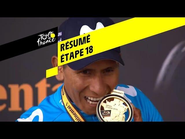 Tour de France 2019. Quintana (Movistar) remporte la 18ème étape en solitaire