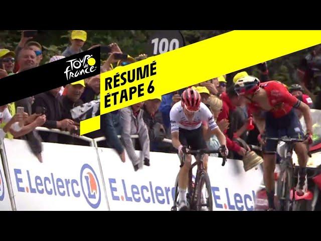 Tour de France 2019.  Teuns remporte une étape vendangée par les favoris
