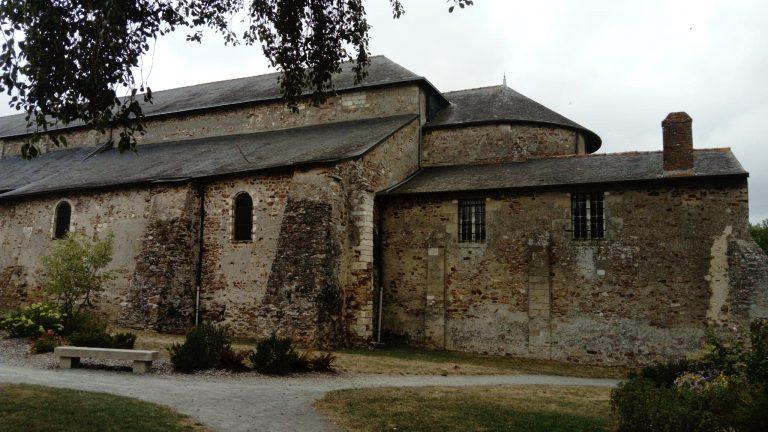 A l'abbatiale de Saint-Philbert-de-Grand-Lieu, 1200 ans après