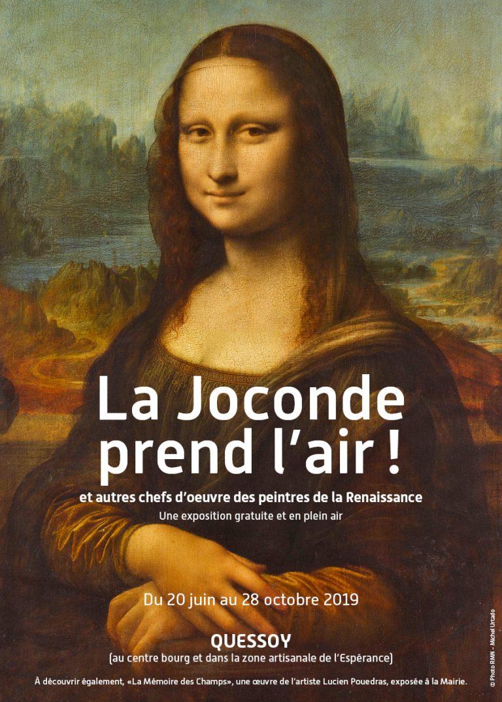 La Joconde prend l'air, à Quessoy (22) jusqu'au 28 octobre