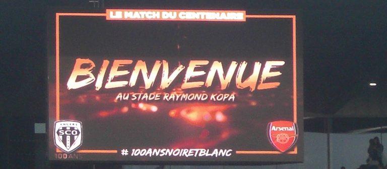 [Football] Angers-Arsenal: un air d'Angleterre pour un club centenaire