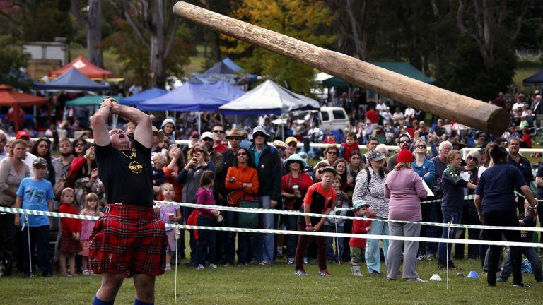 Jeux et sports traditionnels régionaux : Caber et Highlands Games (9/9)