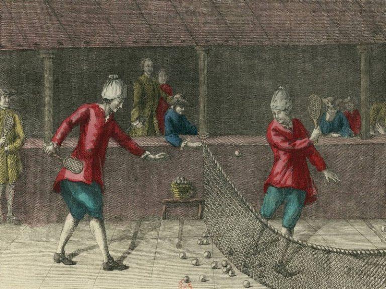 Jeux et sports traditionnels régionaux : le Jeu de Paume (6/9)