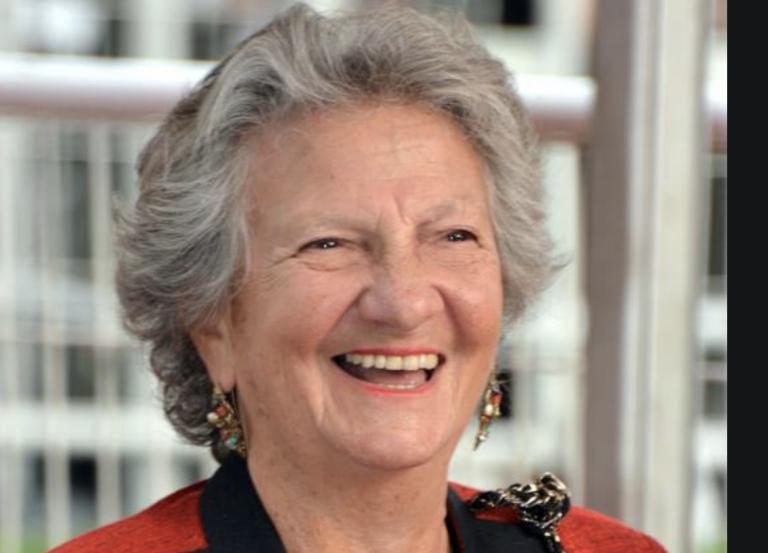L'actrice Marthe Villalonga à Campénéac le 10 novembre 2019