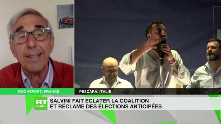 Italie : « Salvini est devenu en quelques mois le véritable patron de l'Italie » [Vidéo]