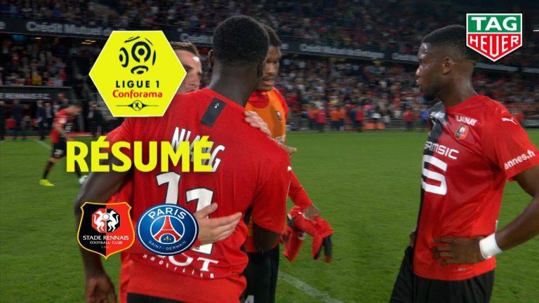 Le Stade Rennais fait chuter le PSG (2-1), le FC Nantes se heurte à l'OM (0-0) et Brest à Saint-Etienne (1-1) [Vidéo]