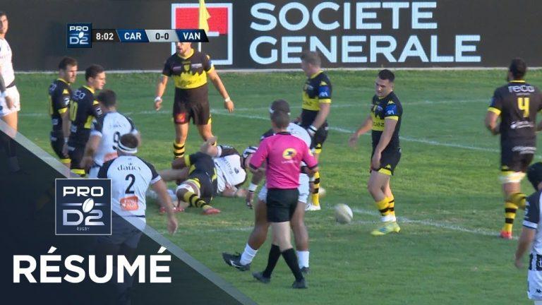 Rugby. Pro D2. Le RC Vannes tombe d'entrée à Carcassonne [Vidéo]