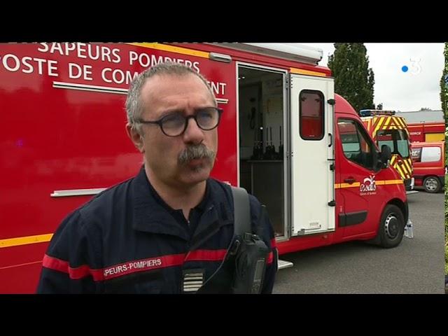 Incendie d'une usine à Merdrignac [Vidéo]