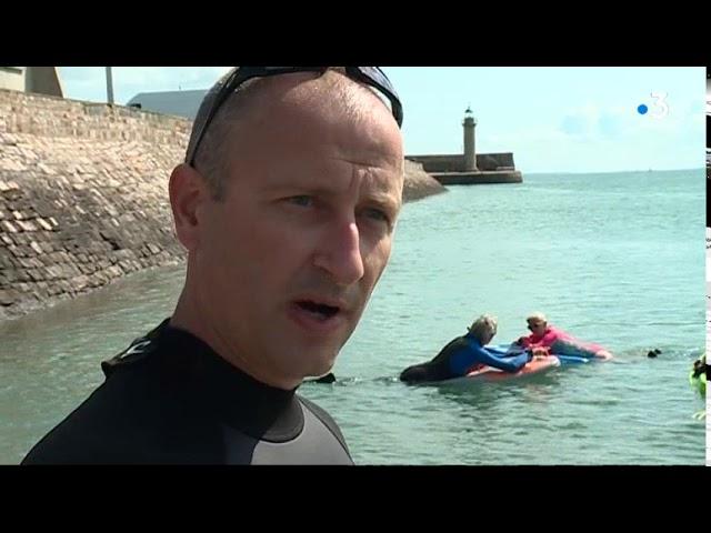 Le Finboard : un nouveau sport de glisse pour la randonnée côtière [Vidéo]