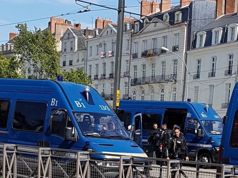 Nantes. La manif « contre les violences policières » a été particulièrement… violente