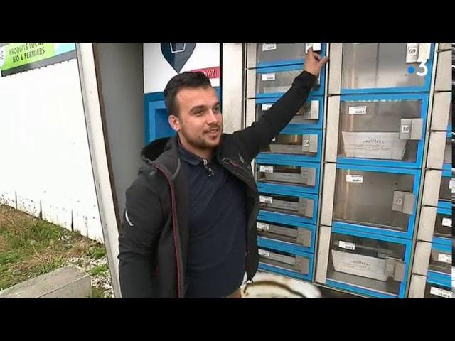 Finistère. Des huîtres 24h/24h grâce à un distributeur automatique à Landeda [Vidéo]