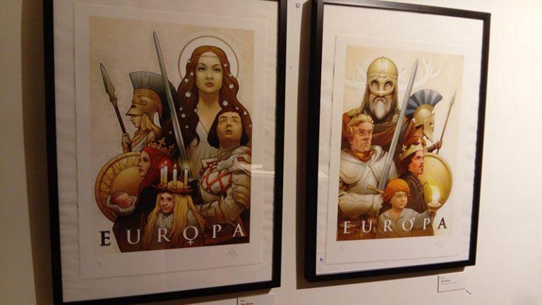 Retour en images sur l'exposition Renaissance(s) de l'Institut Iliade