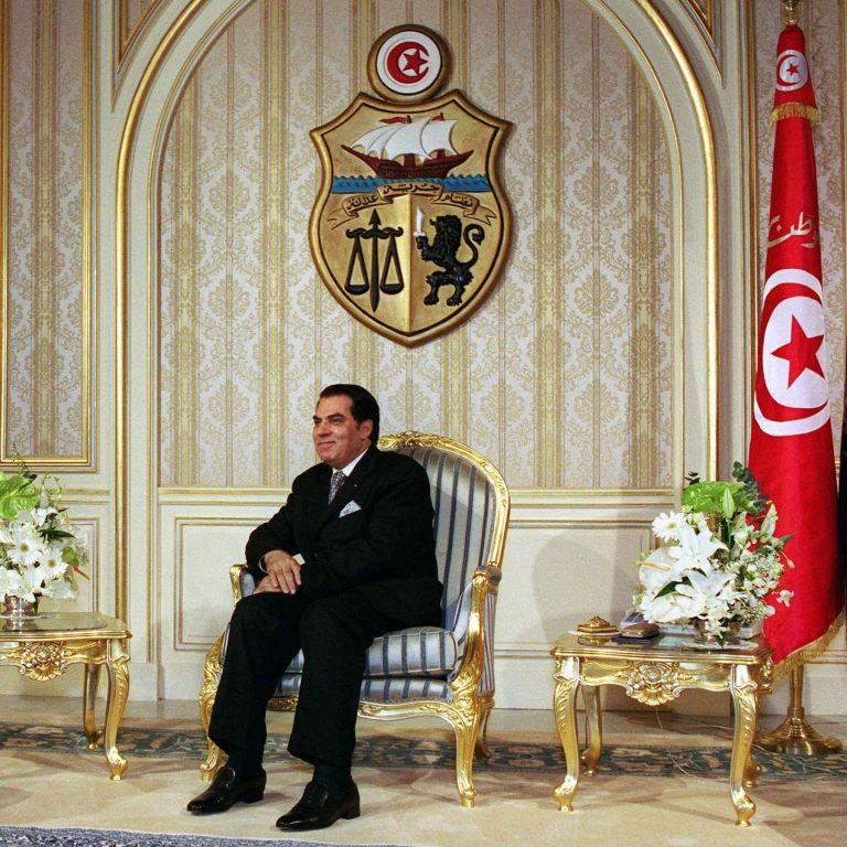Le président Ben Ali, l'homme qui avait sauvé la Tunisie de la révolution islamiste