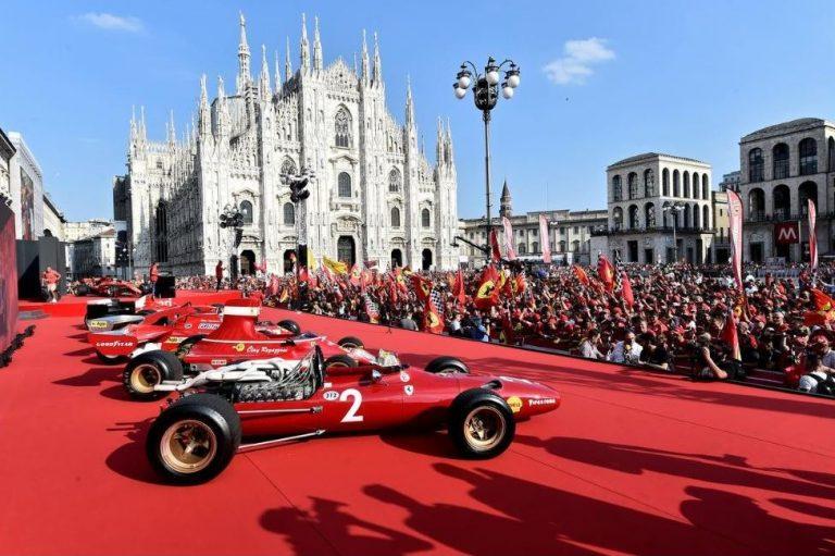 La légendaire Scuderia Ferrari fête ses 90 ans à toute vitesse! [Vidéos]