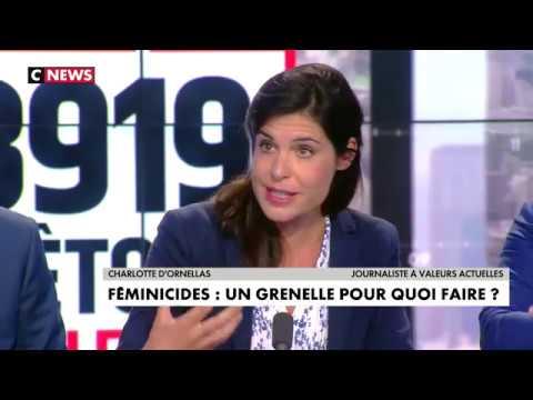 « Féminicides ». La journaliste Charlotte d'Ornellas seule face à un plateau hystérique [Vidéo]