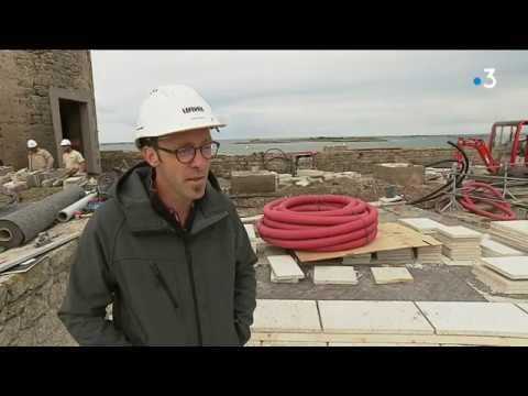 Fort Cigogne : une journée avec les ouvriers, sur le chantier de rénovation [Vidéo]