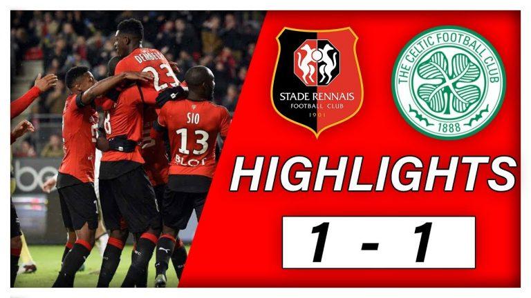 Le Stade Rennais démarre sa campagne de Ligue Europa par un nul face au Celtic (1-1) [Vidéo]