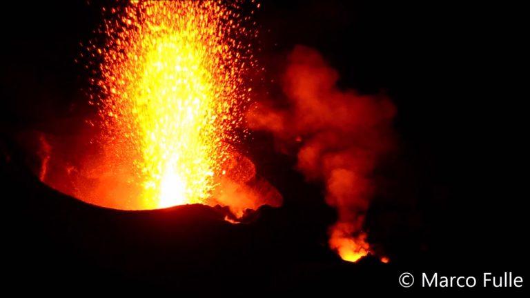 Et si vous passiez des vacances aux côtés de géologues près de volcans en éruption ?