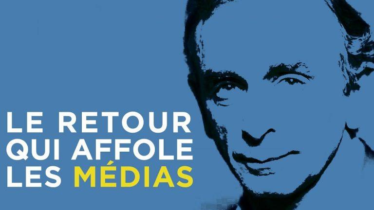 Eric Zemmour, le retour qui affole les médias ! [Vidéo]