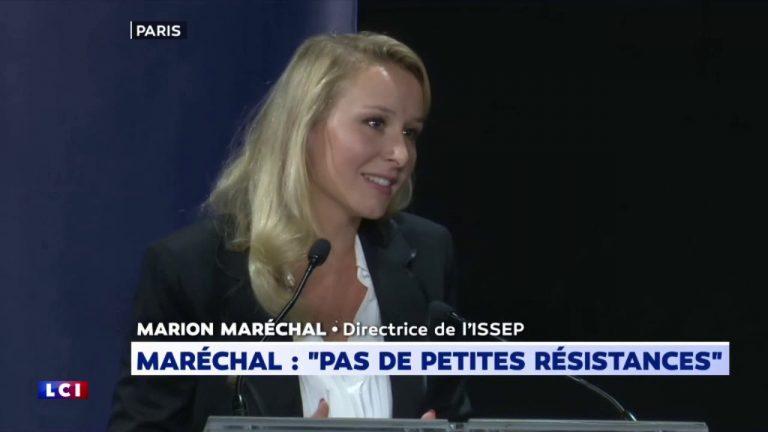 Discours de Marion Maréchal à la Convention de la Droite [Vidéo]