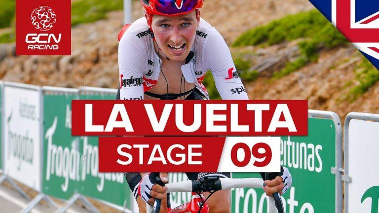 Vuelta 2019. Quintana en rouge avant de débuter la deuxième semaine de course