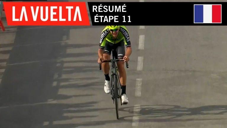 Cyclisme. Le basque Itturia s'impose lors de la 11ème étape de la Vuelta