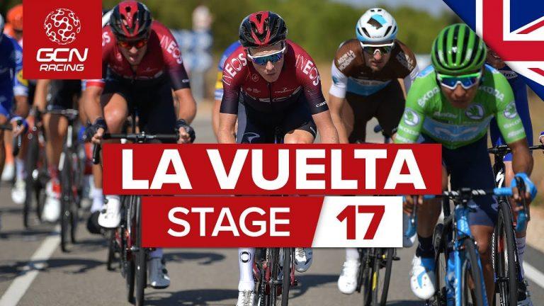 Philippe Gilbert remporte une 17ème étape folle sur la Vuelta [Vidéo]