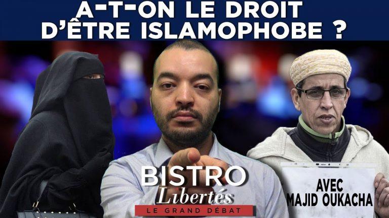 Débat sur Bistro Libertés. A-t-on le droit d'être islamophobe ? [Vidéo]