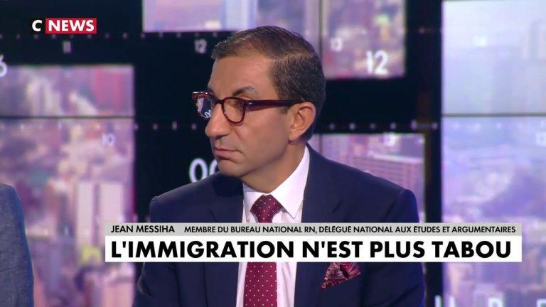 Jean Messiha sort la boite à gifles sur Cnews concernant l'immigration [Vidéo]