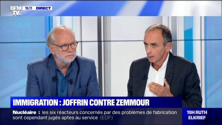Immigration : Eric Zemmour contre Laurent Joffrin [Vidéo]