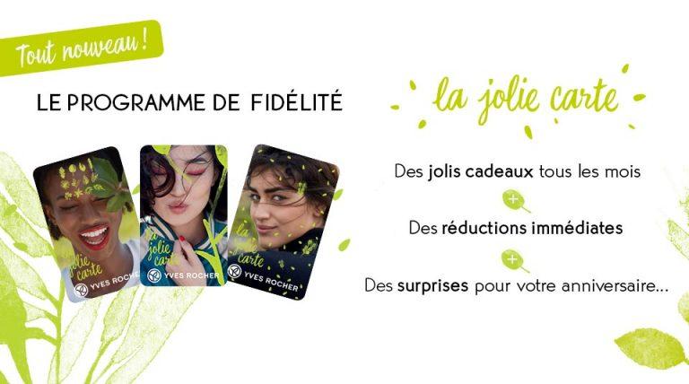 Avec Yves Rocher, pas de carte de fidélité pour les Blanches ?