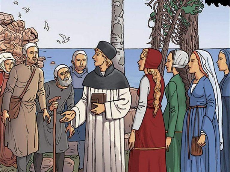 Le Breton saint Yves en bande dessinée