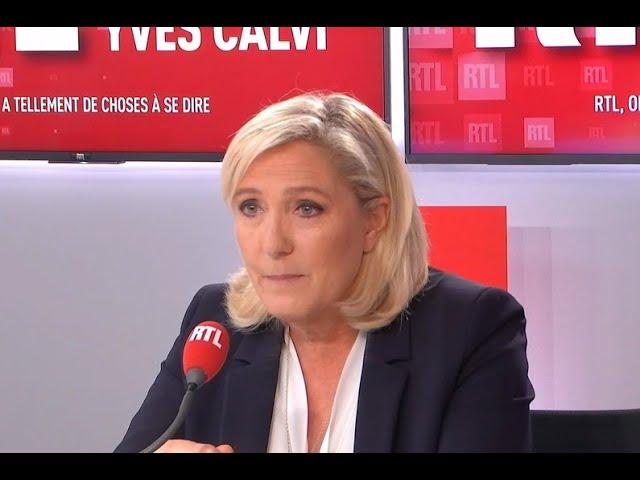 PMA pour toutes. « L'État ne peut pas mentir sur un acte d'état civil » dit Marine Le Pen [Vidéo]