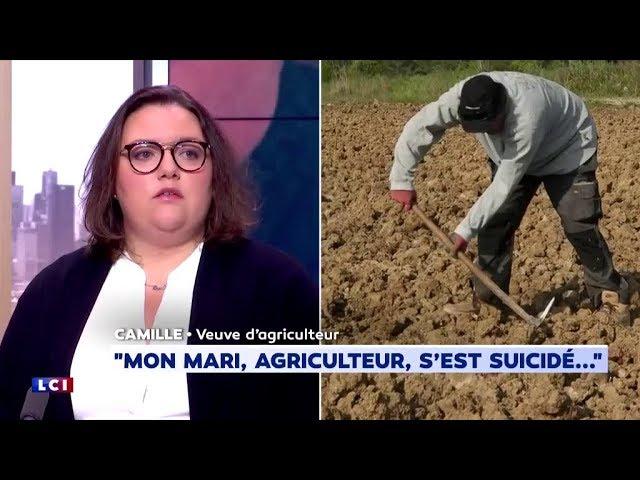 « Mon mari s'est suicidé ». Une veuve d'agriculteur témoigne de ce qu'ils ont vécu [Vidéo]