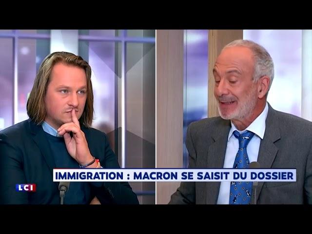 Geoffroy Lejeune donne une leçon à Gérard Miller sur l'immigration [Vidéo]