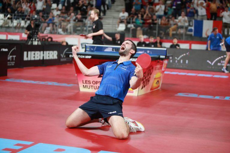Euro de Tennis de table à Nantes. Victoire de l'équipe de France masculine, c'est terminé pour les filles