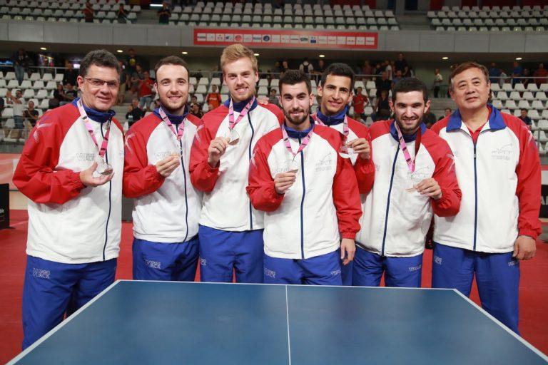 Euro de Tennis de Table. La France 3ème, victoires de l'Allemagne et de la Roumanie