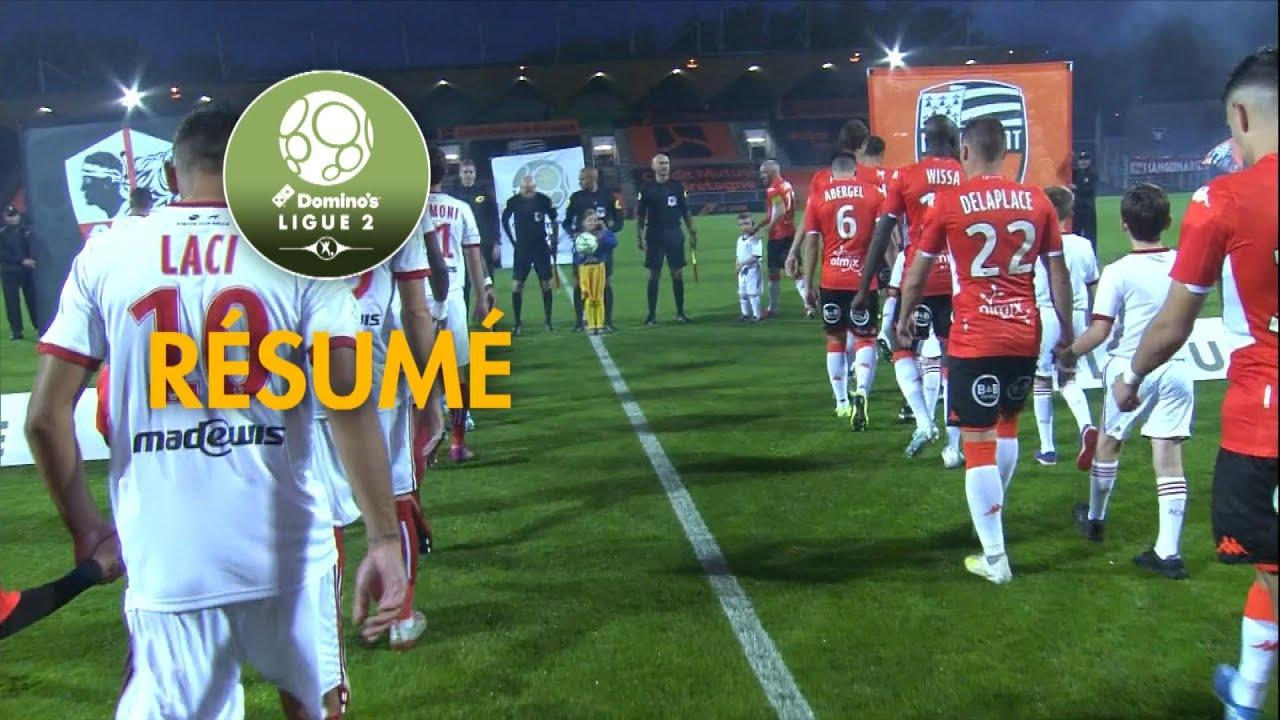 Ligue 2. Le FC Lorient patine, EA Guingamp enchaine les victoires [Vidéo]
