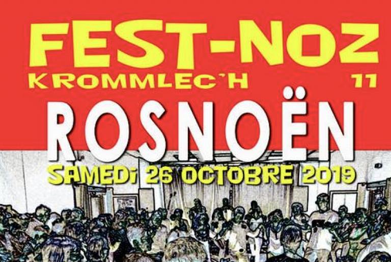 Fest Noz Krommlec'h 2019, le samedi 26 octobre à Rosnoën