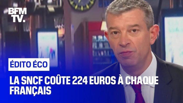 La SNCF coûte 224 euros à chaque Français [Vidéo]