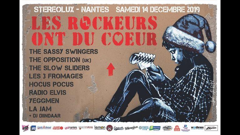 Nantes. Les Rockeurs ont du cœur se donnent rendez-vous le 14 décembre au Stéréolux