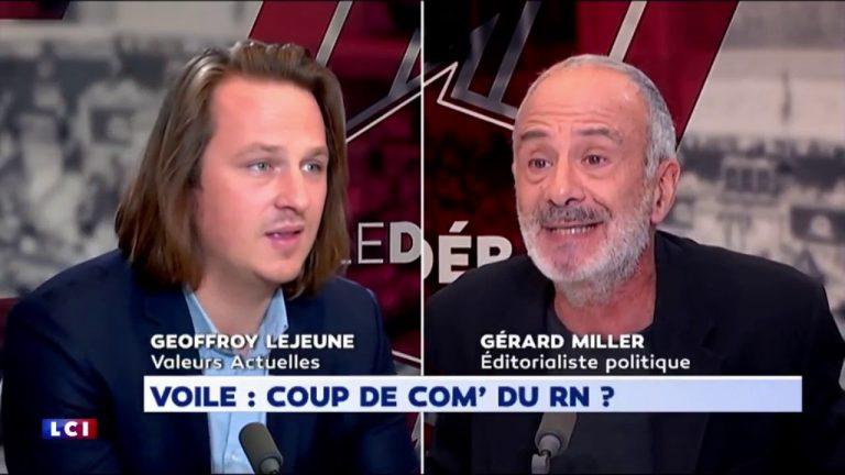Geoffroy Lejeune : « Le voile ne fait pas partie de la culture française » [Vidéo]