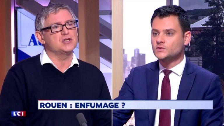 Michel Onfray détruit un député LaREM sur l'incendie à Rouen. [Vidéo]